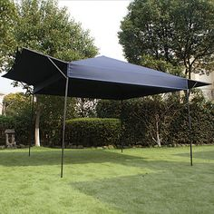 outsunny metal smoking gazebo marquee garden patio bbq tent grill canopy awning. Black Bedroom Furniture Sets. Home Design Ideas