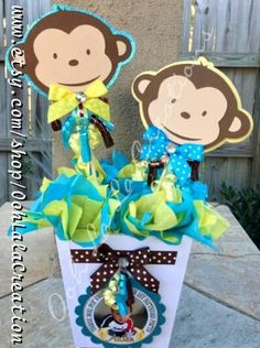 baby shower ideas on pinterest monkey baby showers monkey and