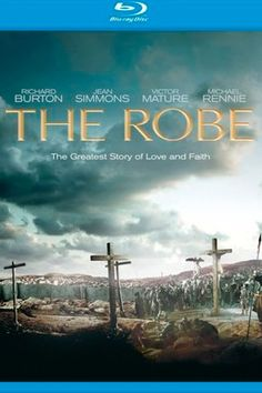 Title : The Robe (1953) Released : 04 Dec 1953 Genre : Drama, History Actors : Richard Burton, Jean Simmons, Victor Mature, Michael Rennie Runtime : 135 min Plot : In the Roman province of Judea during the 1st century, Roman tribune Marcellus Gallio is ordered to crucify Jesus of Nazareth but is tormented by his guilty conscience afterwards. #TheRobe1953, #TheRobe1953Poster, #TheRobe1953Trailer, #TheRobe1953FullMovie Richard Simmons, Jean Simmons, Best Drama Movies, Burton Richard, Guilty Conscience, Best Dramas, 1st Century, Movie Releases, Great Stories