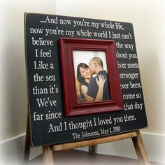 Lyrics to Then by Brad Paisley - our first dance-  I want this as a wedding gift from someone.