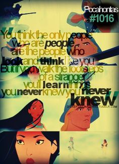 Pocahontas <3paint with all the colors of the wind