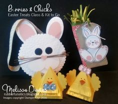 RubberFUNatics: Bunnies and Chicks Easter Treats Class and Kit to Go