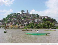 Janitzio Island in Lake Patzcuaro, Michoacan, Mexico (my home state)