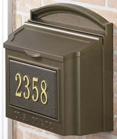 48 Best Mailbox And House Numbers Images New Mailbox