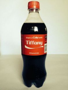 Coca Cola Share a Coke with Tiffany