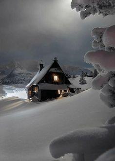 New Nature Winter Wonderland Snow Scenes 62 Ideas Winter Szenen, I Love Winter, Winter Magic, Winter Night, Winter House, Snow Night, Winter Time, Tatra Mountains, Snow Scenes