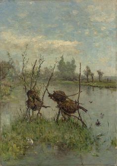 Eendennesten, Paul Joseph Constantin Gabriël, ca. 1890 - ca. 1900 (Rijksmuseum, Amsterdam)
