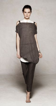 sarah pacini.  These colors are fantastic, and I love anything that fits loose and looks comfortable.