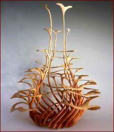 Alain Mailland ~ Turned & Sculpted Wood, 2013