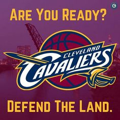 It's that time again, Cleveland... DefendTheLand // ➡️ @h_grove // Cleveland Cavaliers NBA
