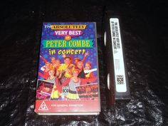 THE ABSOLUTELY VERY BEST OF PETER COMBE IN CONCERT VHS Video
