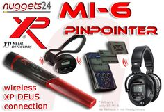 XP MI-6 MI6 MI 6  new PinPointer Probe wireless for DEUS connection - nice ;-) from nuggets24.com Shops, Pointers, Connection, Nice, Detector De Metal, Tents, Stylus, Retail