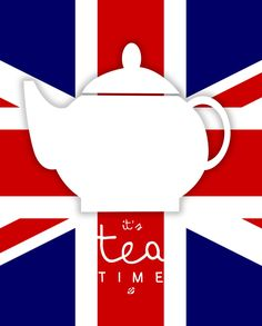 Spot ON, it's TEA TIME! For all of you tea lovers. Tea does sooth the soul… Humor Ingles, Beatles, British Party, London Party, Royal Tea, Thinking Day, Fun Cup, My Cup Of Tea, Neon Party