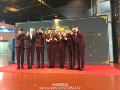 [Picture] BTS on Stars trend chart Red Carpet at The 5th Gaon Chart K-POP Awards [160217]