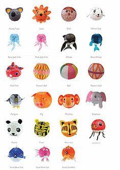 Japanese animal paper lantern designs