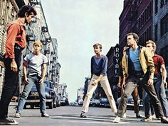 West Side Story - The beginning of Capoeira? No, but close.