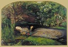Image result for death of ophelia painting