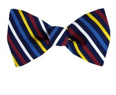 Navy - Burgundy - Yellow - Blue Extra Large Self-Tie Bow Tie Banks Vault, Tie Bow, Burgundy, Bows, Navy, Yellow, Accessories, Style, Arches
