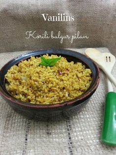 Pirinç pilavını çok daha fazla severdim daha önce,Diyarbakır'lı arkadaşım bana o bölgenin bulgurundan getirene kadar.. O gün bugü...