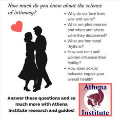 Women can learn about their reproductive systems, fertility, pheromones, and hormonal rhythms with Dr. Cutler's book on Love Cycles: The Science of Intimacy, https://athenainstitute.com/lc.html #fertility #women