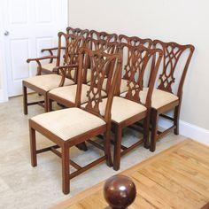 Henkel Harris Mahogany Set Of 8 Dining Room By PrettyRuggedDesigns