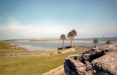 St. Augustine Florida and the Battle landmark
