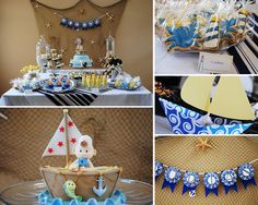 nautical Baby Shower Ideas For Boys | Kids Party Hub: Baby Shower and Christening Theme Ideas for Boys