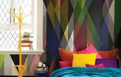 Смелые принты: ромбы, соты, полосы, кубы http://www.inmyroom.ru/posts/geometriya-prostranstv от @InMyRoom_ru