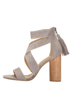 Give your favorite summer dress a sassy spin with the Jara sandal from Spendid! Comfy and cute, give your shoe closet a must-have addition with this pretty light-gray style.  Product measurements were taken using size 10, width B - Medium. Please note that measurements may vary by size.    Measurements: Heel Height: 4 in Weight: 13 oz   The Jara Sandal by Splendid. Shoes - Sandals - Platform Shoes - Sandals - Heeled Florida