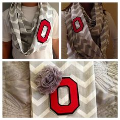 Ohio State scarf--WANT!!!!!
