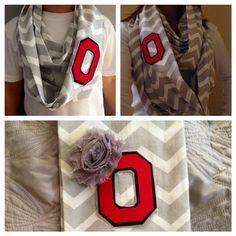 Ohio State scarf