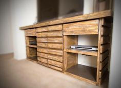 rustic TV console 2013.80 www.thedoretolawrence.com