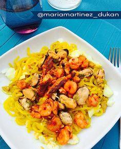 Recetas Fit con fideos de Konjac, la pasta sin hidratos   #recetas #fitness #lowcarb