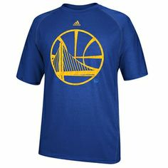 Golden State Warriors Short Sleeve Primal Logo Adidas CLIMALITE Tee-Royal