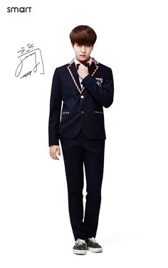 Youngjae of #GOT7 for Smart Uniform