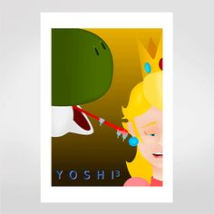 Fine art Yoshi Alien por Hugo Tamura R$48,00