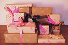 wrap the perfect gift with gift horse and co  styleathome.com