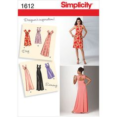 Simplicity Pattern 1612AA 10-12-14-1-Simplicity Misses Dr
