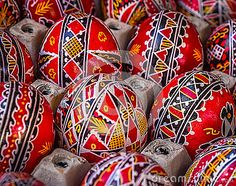 Traditional Painted Easter Eggs - Download From Over 57 Million High Quality Stock Photos, Images, Vectors. Sign up for FREE today. Image: 90442781