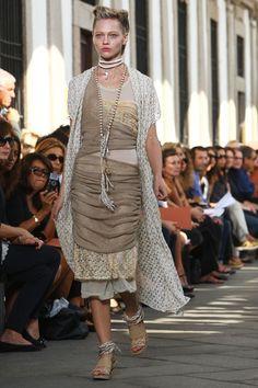Sasha Pivovarova - Missoni - Milan Fashion Week Spring/Summer 2010