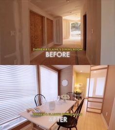 #Dreambuilders Darren and Elaine's re-designed #diningroom. #design #renovation #homeimprovement