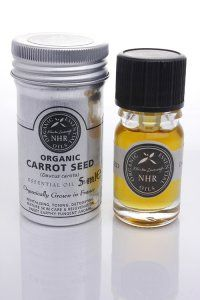 Organic Carrot Seed Essential Oil  (Daucus carota) A natural sunscreen and lovely for facial massage- detoxifies, strengthens and increases elasticity. Combine a few drops into a Jojoba or Apricot Kernal base & feel free to add a few drops of your favorite essential oil for aroma. My patients love ylang ylang , rose and neroli.