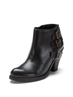 Sher Triple Back Buckle Bootie from Shoe Guide: Booties on Gilt