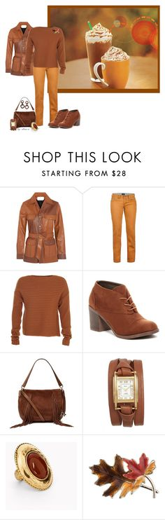 """""""Pumpkin Spice Fashion Colors"""" by alina-n ❤ liked on Polyvore featuring Chloé, Marmot, TIBI, Michael Antonio, Diane Von Furstenberg, La Mer, Chico's, Anne Klein, NEST Jewelry and autumnstyle"""