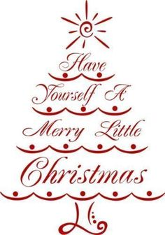 Have Yourself A Merry Little Christmas Stencil circut svg Christmas Stencils, Christmas Vinyl, Noel Christmas, Christmas Images, Christmas Signs, Merry Little Christmas, Christmas Projects, Christmas Greetings, All Things Christmas