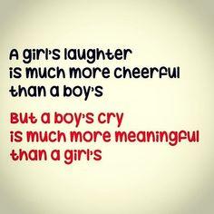 #boy vs #girl #cry