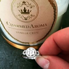 Lovely discovery from Charmed Aroma candle! Seek your ring surprise today!