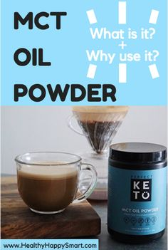 Best MCT oil powder - what is it and why use it?