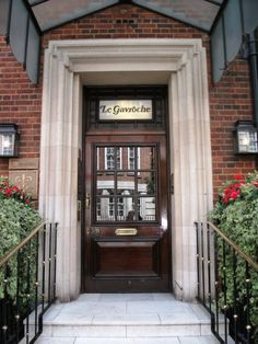 Le Gavroche restaurant--London  what an experience!
