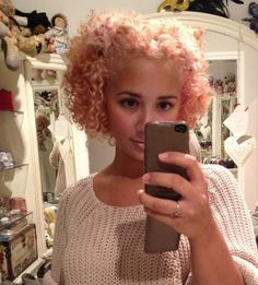 pastel olive hair - Google Search